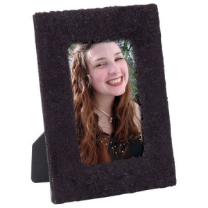 Black Furry Fabric Frame FF-002.jpg