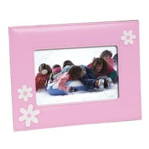 Leatherette Pink - White Flower Frame LF-001.jpg