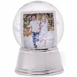NE Sphere Chrome Base Snow Globe 27493.jpg